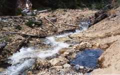 Camping Toilet Gamma : Gamma hot springs f hot springs unsoakable
