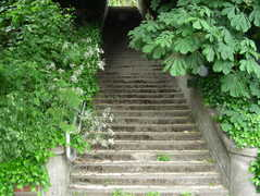 2nd Ave N Stairway: 111 Stairs. Lower End: Prospect St Upper End: Highland  Drive Type: Concrete. Parking: Seattle Center