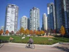 David Lam Park and appartment buildings