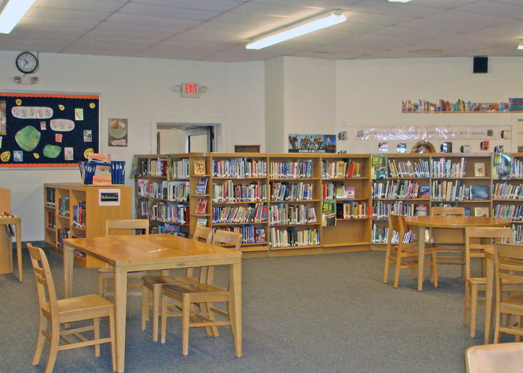 The Central School Library  webnu