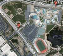 Folsom High School Campus Map.Folsom Ca Map Folsom Lake Hotels Restaurants Points Of