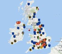 BRITISH ISLES (England, Ireland, Scotland and Wales